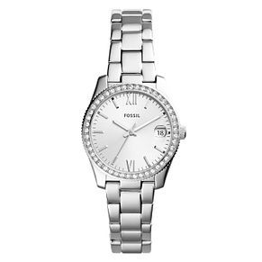Fossil Scarlette Ladies' Stainless Steel Stone Set Watch - Product number 8601674