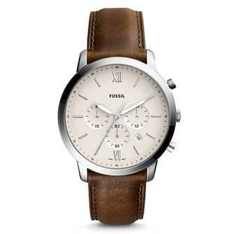 Fossil Neutra Men's Chronograph Strap Watch - Product number 8601755