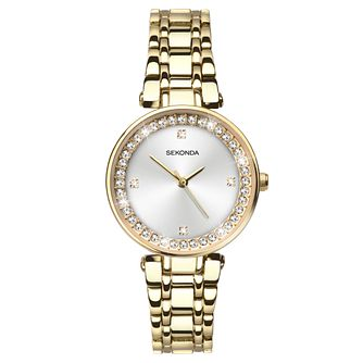 Sekonda Ladies' Gold Plated Bracelet Watch - Product number 8602131