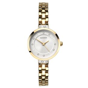 Sekonda Ladies' Gold Plated Bracelet Watch - Product number 8602190