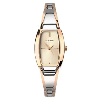 Sekonda Ladies' Rose Gold Plated Steel Bracelet Watch - Product number 8602255