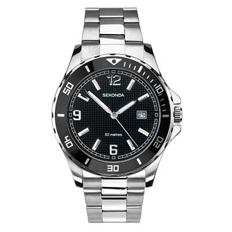 Sekonda Men's Stainless Steel Bracelet Watch - Product number 8602603