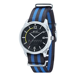 AVI-8 Men's Hawker Hurricane Nylon Nato Strap Watch - Product number 8602964