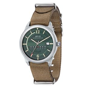 AVI-8 Men's Hawker Hurricane Nylon Nato Strap Watch - Product number 8606854