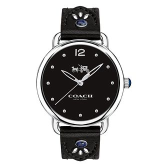 Coach Delancey Ladies' Lapis Lazuli Strap Watch - Product number 8609446