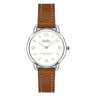 Coach Delancey Ladies' Stainless Steel Strap Watch - Product number 8609489