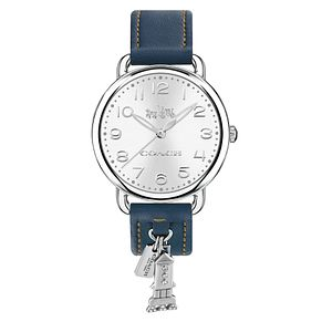 Coach Charm Ladies' Stainless Steel Strap Watch - Product number 8609578