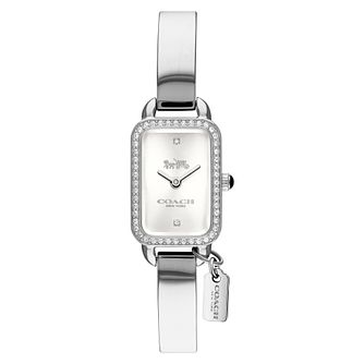 Coach Ludlow Ladies' Stone Set Bracelet Watch - Product number 8609586