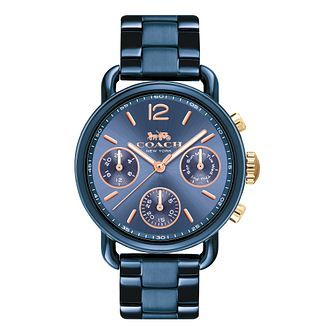 Coach Delancey Sport Ladies' Blue Ion Plated Bracelet Watch - Product number 8609624