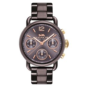 Coach Delancey Sport Ladies' Brown Ion Plated Bracelet Watch - Product number 8609632