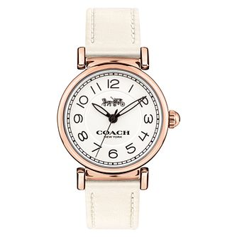 Coach Delancey Ladies' Rose Gold Tone Strap Watch - Product number 8609721
