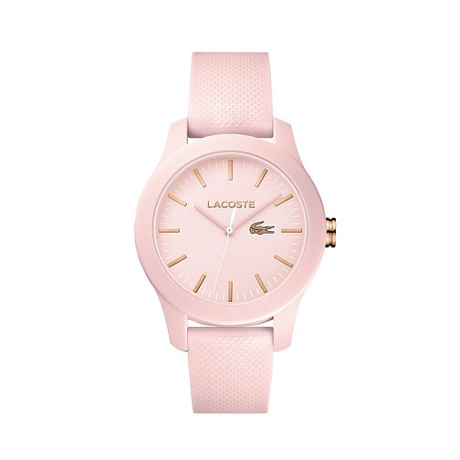 Lacoste Ladies' Pink Silicone Strap Watch - Product number 8610541