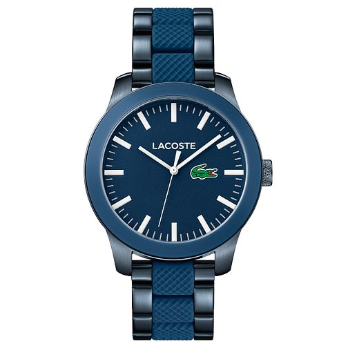 Lacoste Men's Blue Stainless Steel Bracelet Watch - Product number 8610584