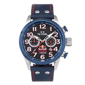 TW Steel Red Bull Men's Blue Ion Plated Strap Watch - Product number 8619697
