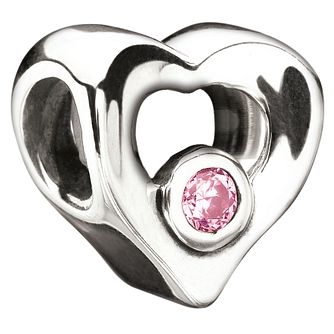 Chamilia Valentines sterling silver heart bead - Product number 8630623