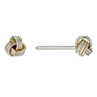 Classic Silver Knot Studs - Product number 8648301
