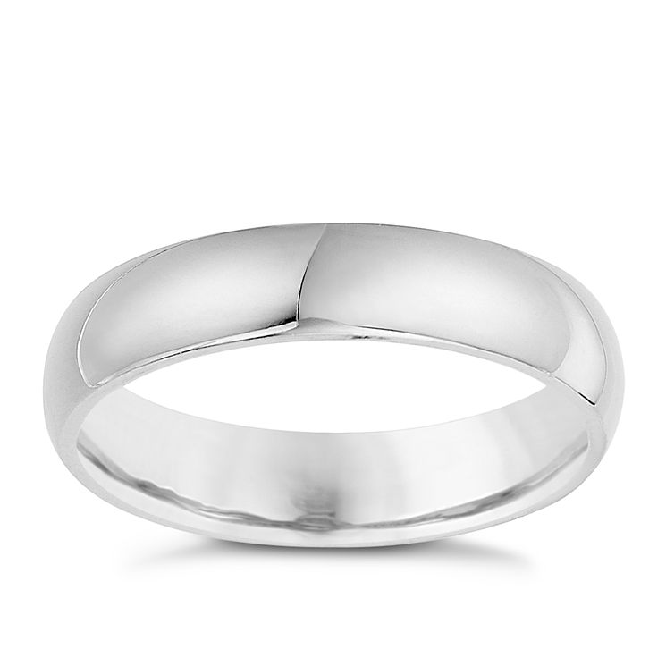 Silver 5mm Super Heavy Court Ring - Product number 8677301