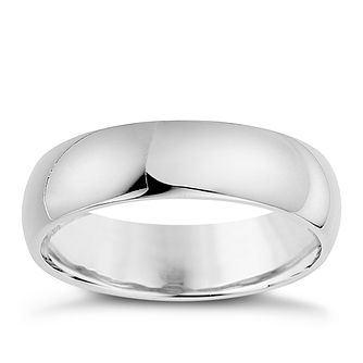 Silver 6mm Super Heavy Court Ring - Product number 8677611