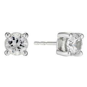 18ct white gold 1.5 carat diamond stud earrings - Product number 8691762