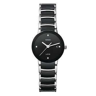 Rado Centrix ladies' steel & ceramic bracelet watch - S - Product number 8712271