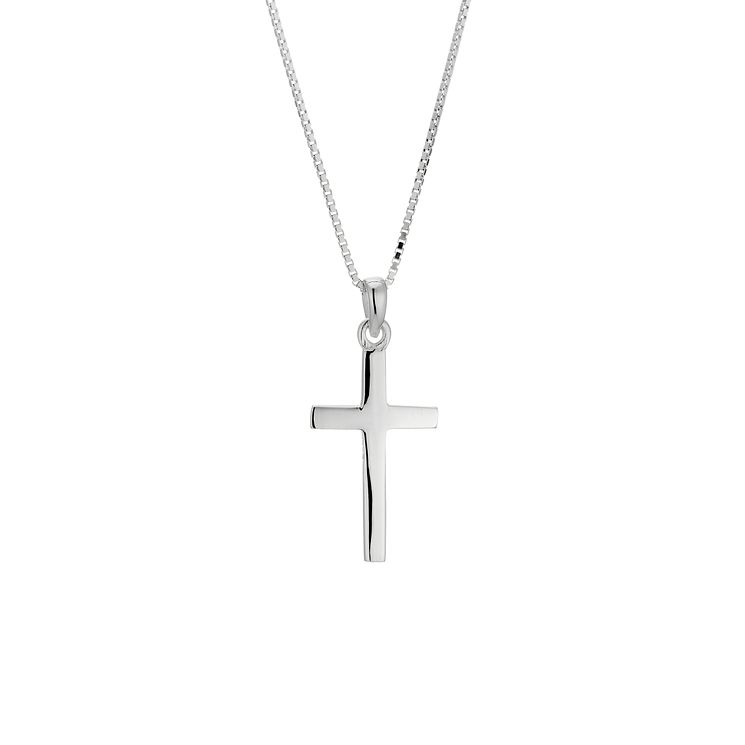 Silver cross pendant - Product number 8716382