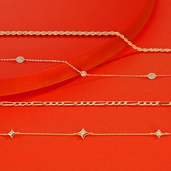 "9ct Yellow Gold 18"" Graduated Rope Necklace - Product number 8732620"