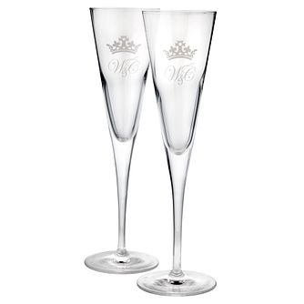 Exclusive Royal Wedding Champagne Flutes - Product number 8804710