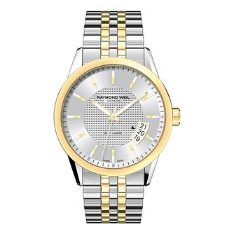 Raymond Weil Freelancer men's two colour bracelet watch - Product number 8807981