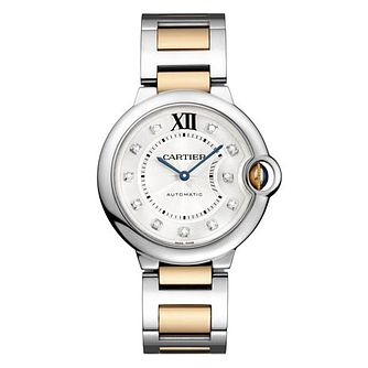 Cartier Ballon Bleu ladies' two colour bracelet watch - Product number 8808112