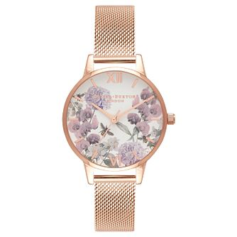 Olivia Burton Enchanted Ladies' Rose Gold Plated Watch - Product number 8816972