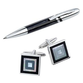 Men's Simon Carter pen and cufflink - executive gift set - Product number 8820341