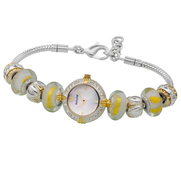 Charmed By Accurist Two Tone Bracelet Watch - Product number 8831599