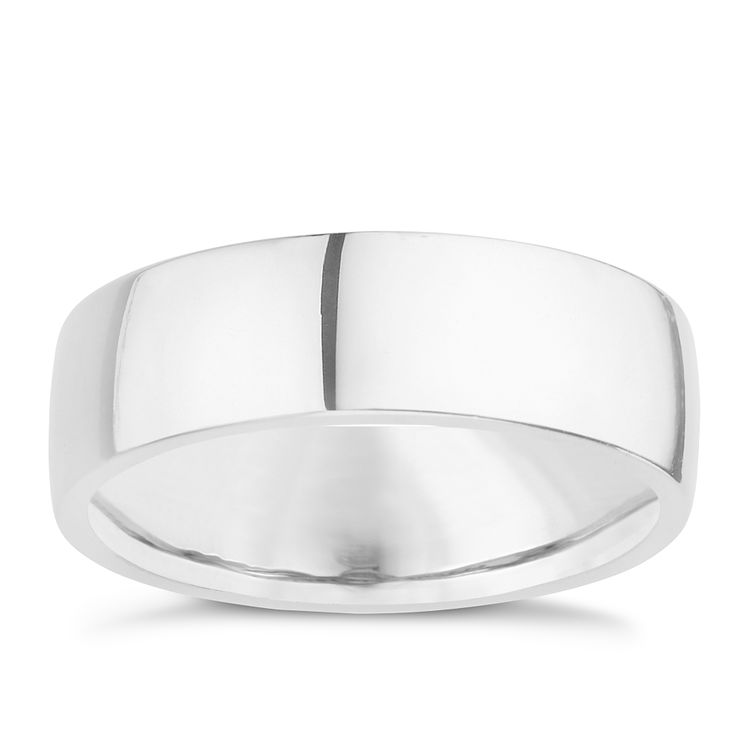 Palladium 950 7mm extra heavy plain court ring - Product number 8836019