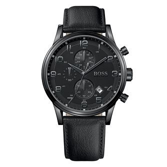 Hugo Boss men's black strap watch - Product number 8836663
