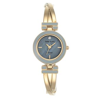 Anne Klein Ladies' Gold Tone Twisted Bracelet Watch - Product number 8888426