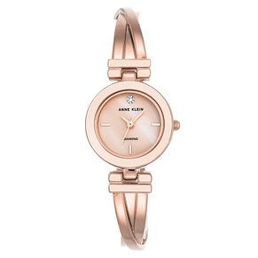 Anne Klein Ladies' Pink Tone Bracelet Watch - Product number 8888469