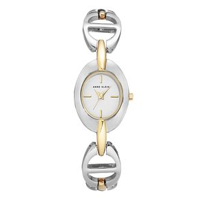 Anne Klein Ladies' Silver & Gold Tone Link Bracelet Watch - Product number 8891435