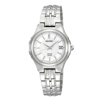 Seiko ladies' stainless steel bracelet watch - Product number 8895384