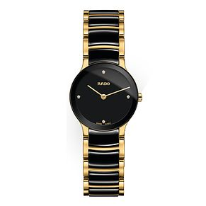 Rado Centrix XS Ladies' Two-Tone Ceramic Bracelet Watch - Product number 8896682