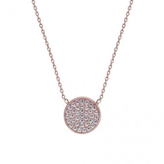 CARAT* LONDON Ladies' Gala Rose Gold Round Pendant - Product number 8909857