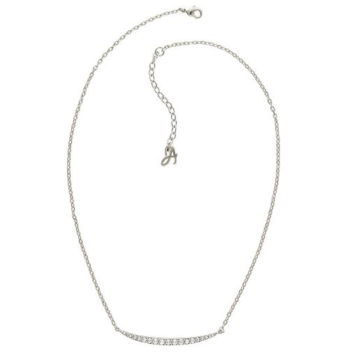 Adore Ladies' Rhodium Curved Bar Necklace - Product number 8919755