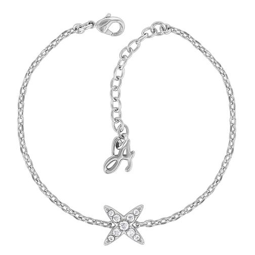 Adore Ladies' Rhodium Plated Star Bracelet - Product number 8919925