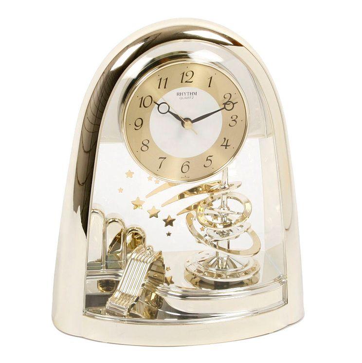 Rhythm Mantel Arched Top Quartz Clock