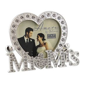 Amore by Juliana Mr & Mrs Photo Frame - Product number 8922209