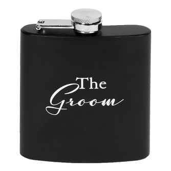 The Groom Black Hip Flask - Product number 8922225