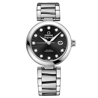Omega De Ville Ladymatic Ladies' bracelet watch - Product number 8947074