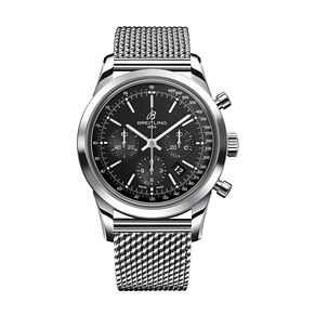 Breitling Transocean men's Chronograph Mesh Bracelet watch - Product number 8950296