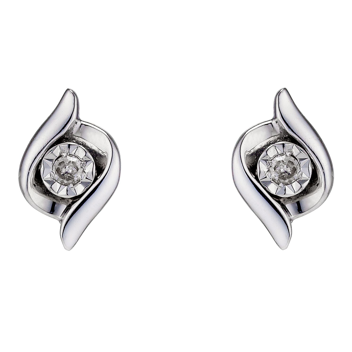 in diamond white image gold womens carat earrings stud from half