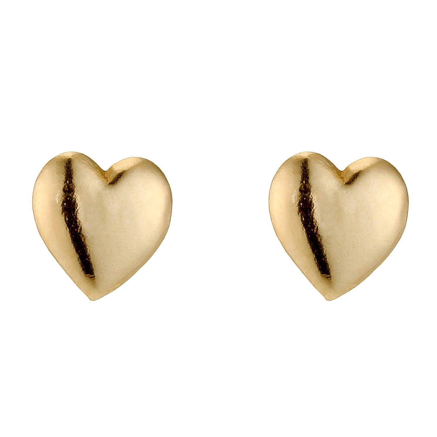 may stud jewellery new heart gold earrings rose image from william