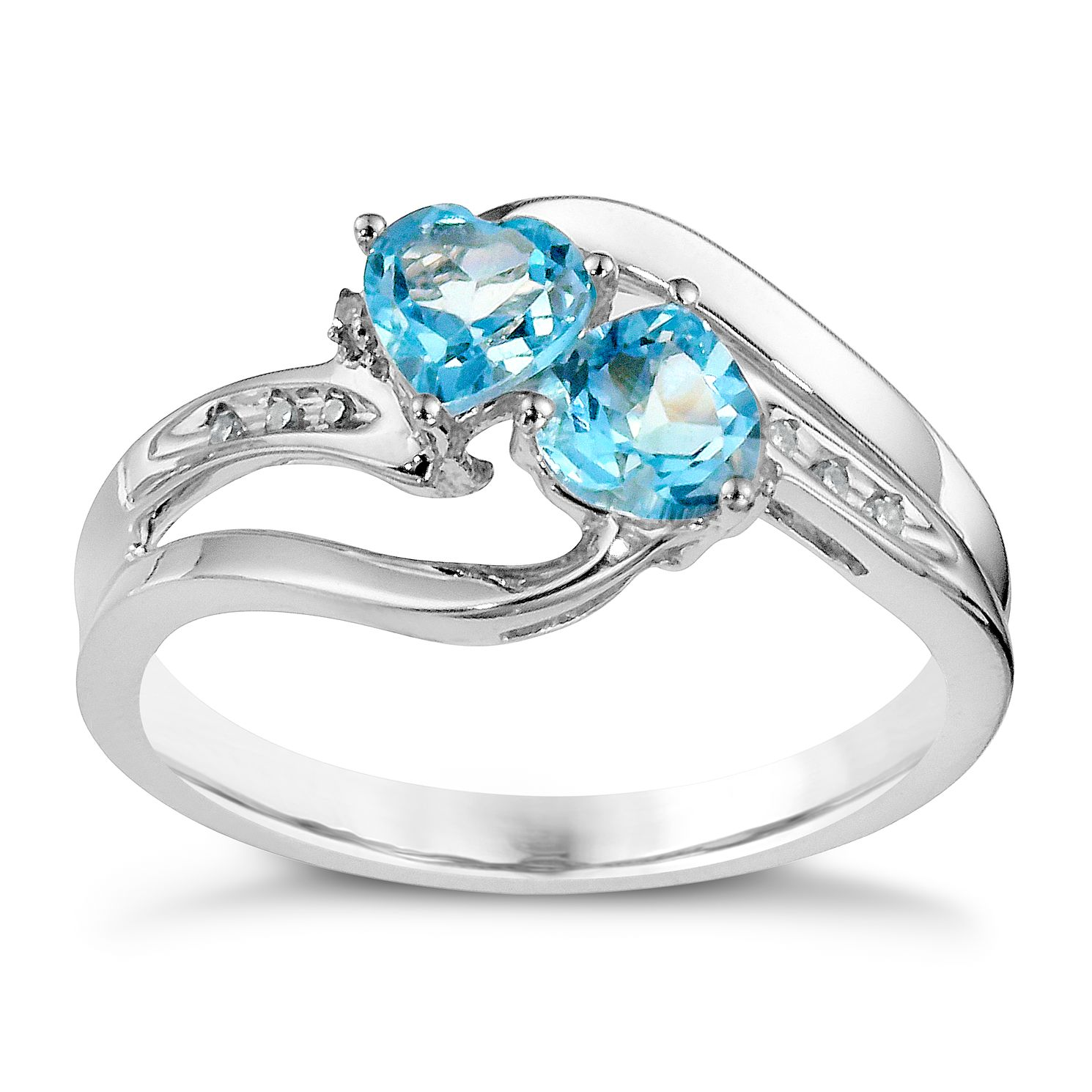 ring topaz blue reverie gold rings top london brilliant white earth